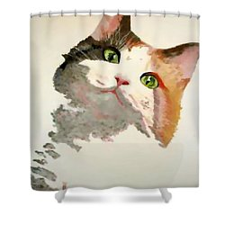 I'm All Ears Shower Curtain by Tracey Harrington-Simpson