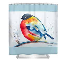 I'm Cold Shower Curtain
