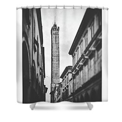 Italy Old Buildings Shower Curtain