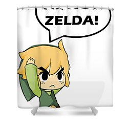 Iu0027m Not Zelda Shower Curtain
