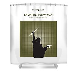 I'm Waiting For My Man -- The Velvet Underground Shower Curtain