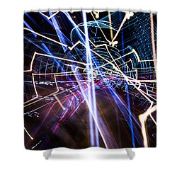 Image Burn Shower Curtain