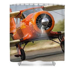 Image Of Staggerwing Proportions Shower Curtain