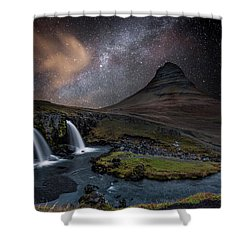Imaginary Shower Curtain