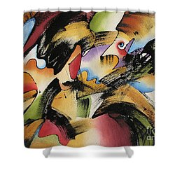 Imagination Shower Curtain by Deborah Ronglien