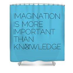 Imagination Shower Curtain by Melanie Viola