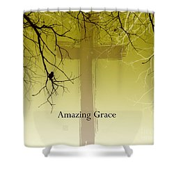 Immanuel- My Saviour Shower Curtain