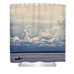 Immensite Shower Curtain by Aimelle