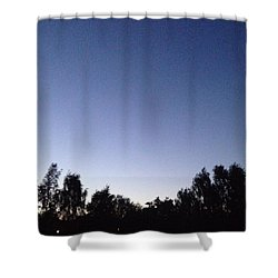 Evening 2 Shower Curtain by Gypsy Heart