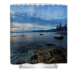 Immersed Shower Curtain by Sean Sarsfield