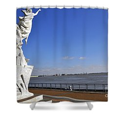 Immigrant Statue Shower Curtain