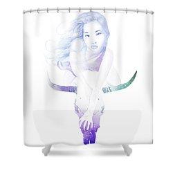 Immortal Shower Curtain