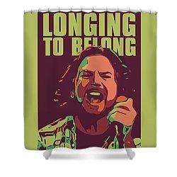 Eddie Vedder Shower Curtain
