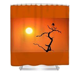 Impalila Island Sunset No. 2 Shower Curtain