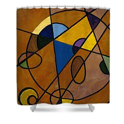 Imperfect Universe Shower Curtain
