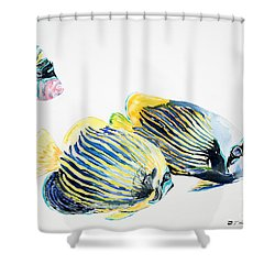 Imperial Angels Shower Curtain by Tanya L Haynes - Printscapes