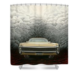 Imperial Shower Curtain by Patricia Van Lubeck