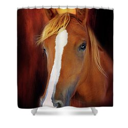 Imperial Pose Shower Curtain