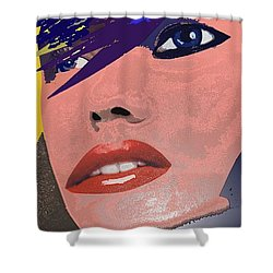 Impossible Dream Shower Curtain by Sheila Mcdonald
