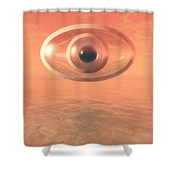 Impossible Eye Shower Curtain