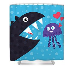 Impossible Love Shower Curtain
