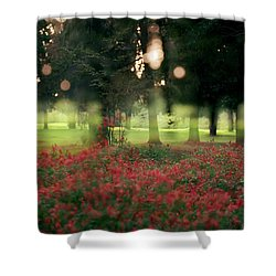 Impression At The Yarkon Park Shower Curtain
