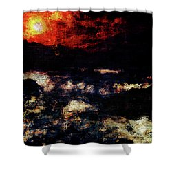 Impression Of A Seaview Shower Curtain