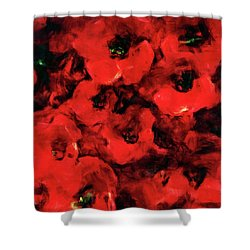 Impression Of Poppies Shower Curtain