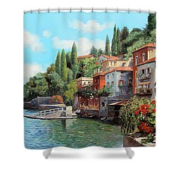 Impressioni Del Lago Shower Curtain