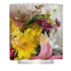 Impressionist Spring Bouquet Shower Curtain