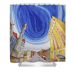 Impressions Of Sedalia Shower Curtain