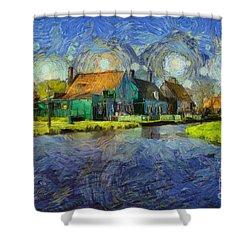 Impressions Of Zaanse Schans Shower Curtain