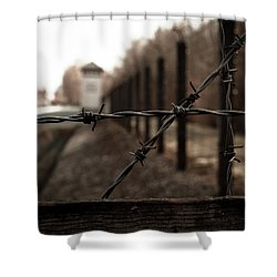 Imprisoned Shower Curtain