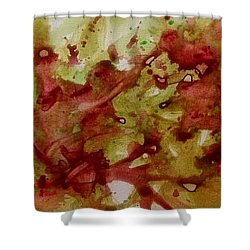 Impromptue Shower Curtain
