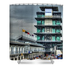 Ims Pagoda Shower Curtain