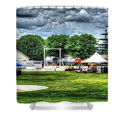 Ims Hospital  Shower Curtain by Josh Williams