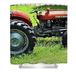 Imt 539 Tractor Shower Curtain