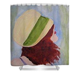 In A Breeze Shower Curtain