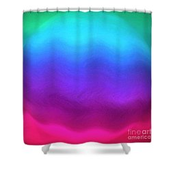 In A Perfect World Shower Curtain