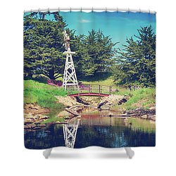 In A Perfect World Shower Curtain by Laurie Search