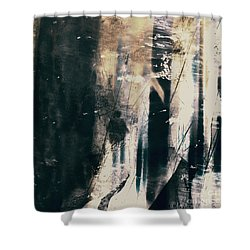 Shower Curtain featuring the photograph In A Yellow Wood by LemonArt Photography