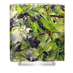 In Abstraction - Gbwo No.1 Shower Curtain