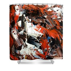 In Abstraction  - Rbw No.2 Shower Curtain