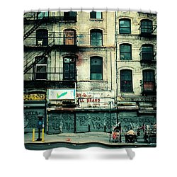 In Another Time And Place Shower Curtain by Vivienne Gucwa