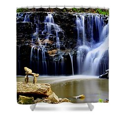 In Balance Shower Curtain