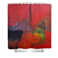 In Between Shower Curtain by Filomena Booth