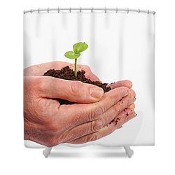 Shower Curtain featuring the photograph In Care by Patricia Hofmeester
