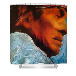 In Cool Clear Waters Shower Curtain