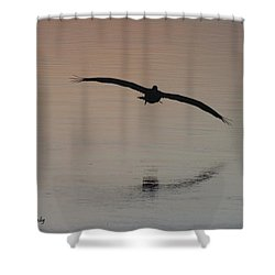 In For The Kill Shower Curtain by Nance Larson