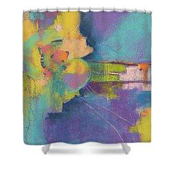 In Gear Shower Curtain